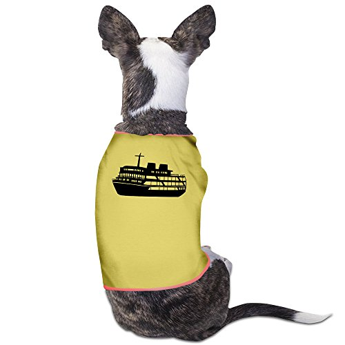 Boat Pet Clothes Yellow