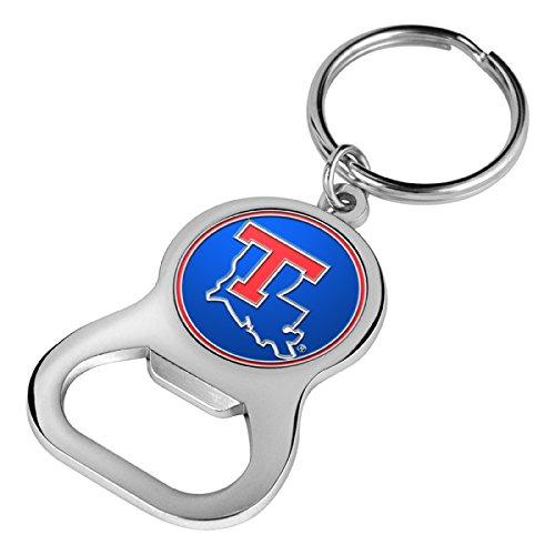 NCAA Louisiana Tech Bulldogs - Key Chain Bottle Opener - Louisiana Tech Bulldogs Keychain
