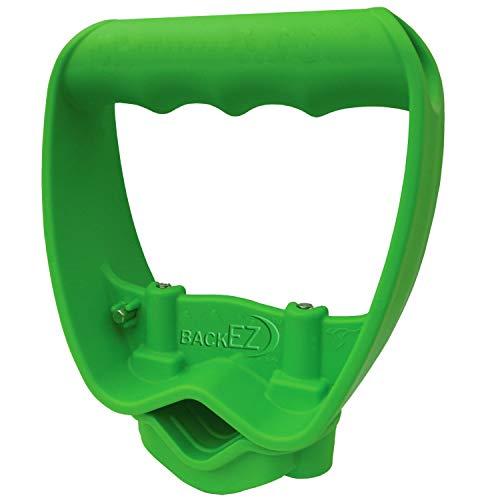 - Back-Saving Tool Handle, Labor-Saving Ergonomic Shovel or Rake Handle Attachment, GREEN