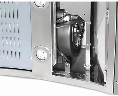 Teka Set 1/M1 - Accesorio para chimenea, kit de campanas de recirculación, acero inoxidable: Amazon.es: Hogar