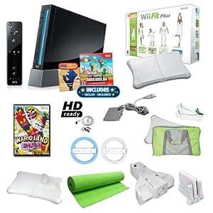 Amazon.com: Top Quality Nintendo Wii Black Super Mario ...