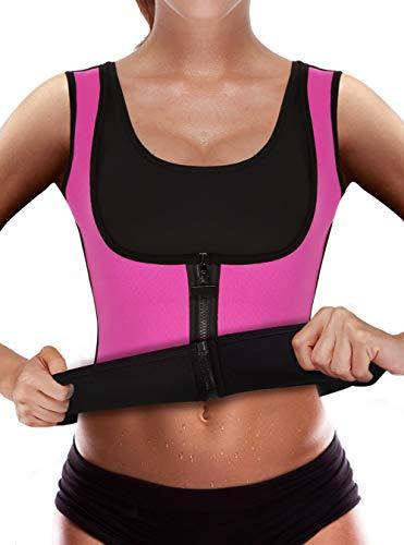 dcf2246f58 Sweat Vest Waist Trainer Women Weight Loss Sauna Suit Slimming Body Shaper