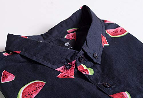 79634217 Visive Original Printed Short Sleeve Button Down Shirt Size Small - 4XL Big  Mens