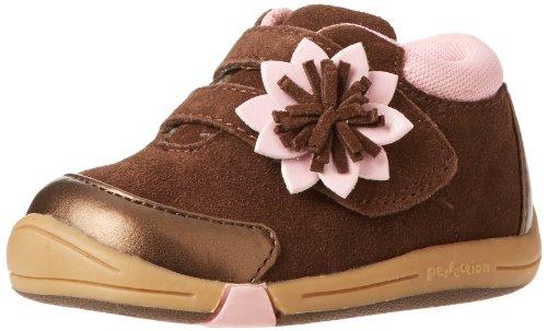 Toddler Girl's Jumping Jacks 'Flower' Sneaker, Size 8 W - Br