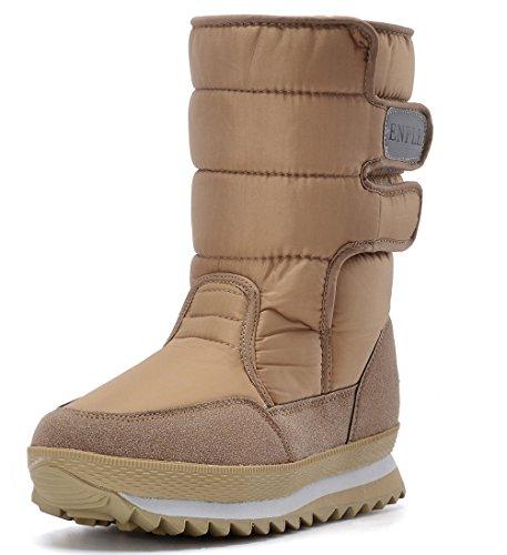 Khaki ep Frosty Women's Snow Waterproof Boot DADAWEN XqRFv