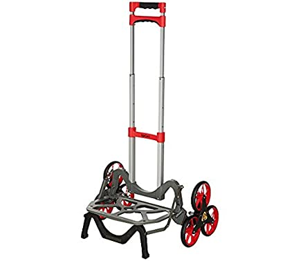 05a2980c00c7 Color UpCart The All-Terrain Stair Climbing Folding Up Cart Hand Truck  Dollie (Red)