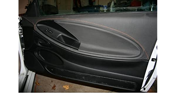 Amazon.com: RedlineGoods Ford Mustang 1999-04 cubierta de puertas de: Automotive