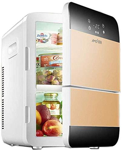 Dljyy El Mini pequeño refrigerador 20L Doble refrigeración del ...