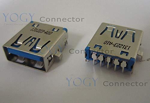 (Gimax 1pcs Laptop usb 3.0 socket fit for toshiba e305,satellite p55 p55t series,usb board p55w series female usb jack port)