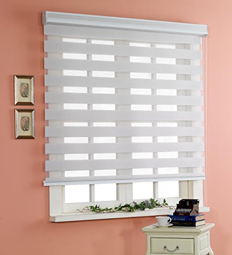 Custom Cut to Size , [Winsharp Basic , grey , W 51 x H 64 (Inch)] Horizontal Window (70x40 Wide Blinds For Windows)