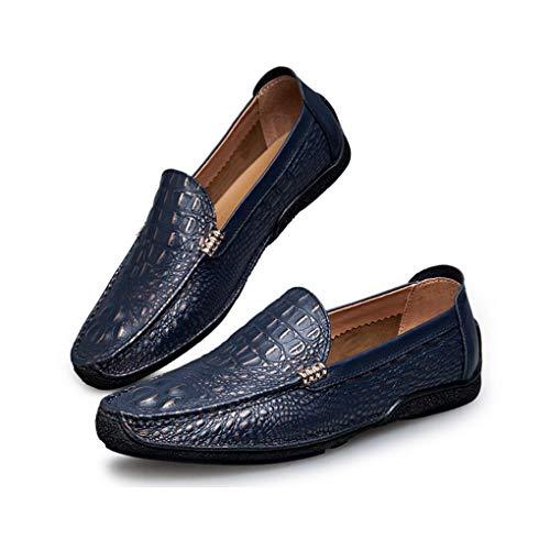 Cordones Zapatos Cuero Zapatos conducción Formales de Diarios Zapatos Zapatos sin de Confort Otoño YaXuan de Negocios Lacios UN Hombre Zapatos Planos Primavera Mocasines Oficina xpZIzPq
