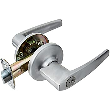 Kwikset 405dl Delta Entry Leverset Satin Chrome Door