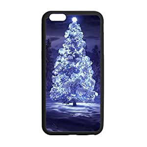 Frozen Christmas tree design Phone Case for iPhone 6 plus 5.5""