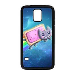 DIYCASESTORE Beautiful Diy SamSung Galaxy S5 i9600 Case Pretty Cat Art design Customized Case WE465577