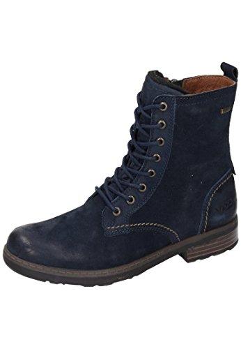 Vado M?dchen Stiefel Blau 560447-5, Gr. 33 by Vado