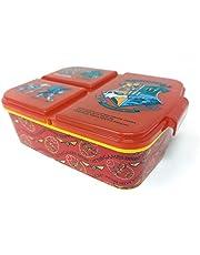 Broodtrommel Harry Potter Kids lunchbox met 3 vakken, Bento broodtrommel voor kinderen, ideaal voor school, kleuterschool of vrije tijd