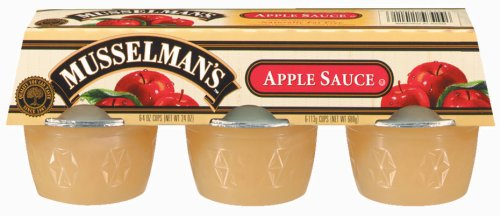 Musselman's Regular Applesauce 6 - 4 oz cups by Musselmans