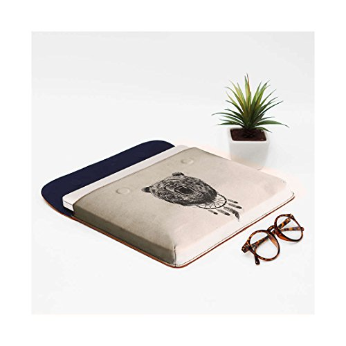 Real Do DailyObjects Envelope The Air Wake MacBook Sleeve Not For Pro Leather 13 Bear xq1rd1nXw0