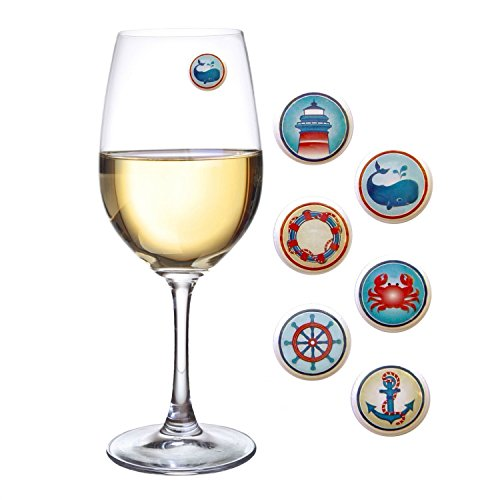 Nautical Wine Charms Magnetic Margarita product image