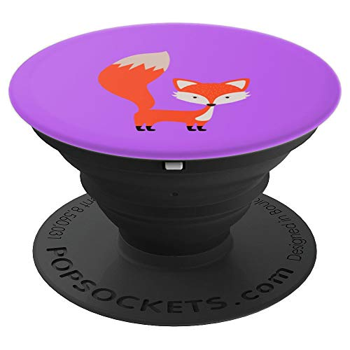Cute Fox Halloween Cartoon Drawing - PopSockets Grip and Stand for Phones and Tablets