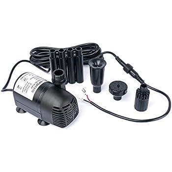 Amazon Com Solar Water Pump Kit 400 Gph With 12v