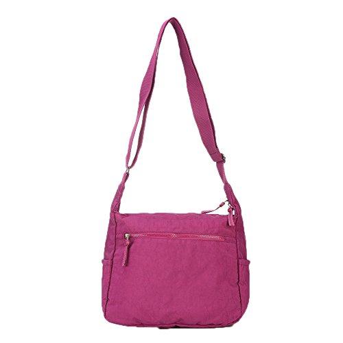 FayTop 943 Nylon red Messenger army purple Womens Pockets green Bags Multi girls Crossbody Bags Handbags 943 Shoulder Spr1wS6xq