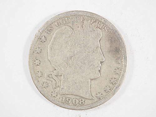 1908 O Barber Half Dollar Half Dollars Ungraded