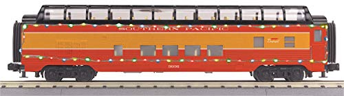 MTH 30-68043 Southern Pacific 60' Streamlined Full-Length Vista Dome Car w/LED Lights