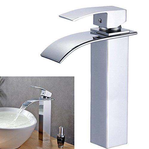Miscelatore monocomando cromato rubinetto rubinetti - Rubinetti bagno a cascata ...