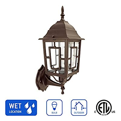 in Home Outdoor Wall Latern/Post Latern/Pendant Latern Clear