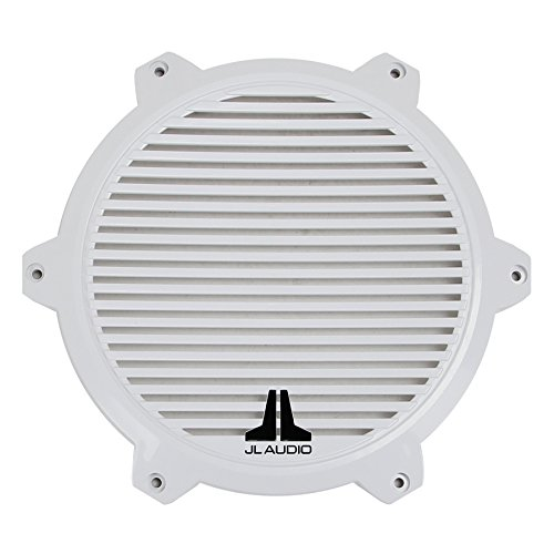 Driver Subwoofer Marine (JL Audio M10-CG-WH-KIT Replacement Classic Grille Kit for M-Series 10-inch Marine Subwoofer Driver - White)