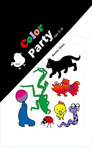 Color Party: A Color Study Book For Kids, Age 0~8. por Kevin Hwu