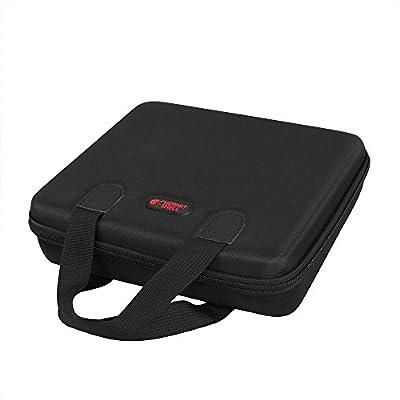 Hard EVA Travel Case for NOCO Genius Boost Plus GB40 1000 Amp 12V UltraSafe Lithium Jump Starter by Hermitshell