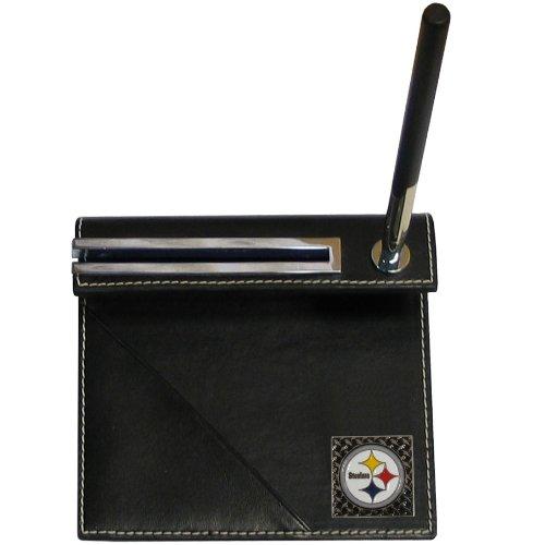 Nfl Business Card Holder - NFL Pittsburgh Steelers Gridiron Desk Set