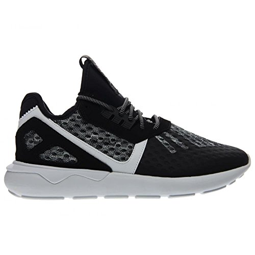 Adidas tubular Runner (7.5, gris / azul marino-blanco) Core Black / Running White