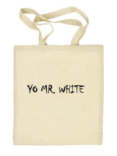 Shirtstreet24, YO MR. WHITE, Stoffbeutel Jute Tasche (ONE SIZE) Natur