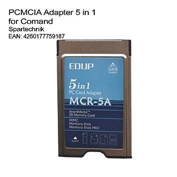 PCMCIA adaptador 5-in-1 para Mercedes COMAND sistema ...