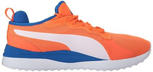 Puma Mens Pacer Next Sneaker Scarlet Ibis-puma Bianco-lapis Blu