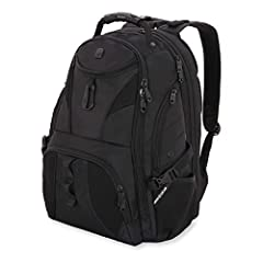 Pack all of your gear and then some in this extra-roomy, full-featured laptop backpack. The SWISSGEAR 1900 ScanSmart Laptop Backpack is made from durable 1200D ballistic polyester fabric and is equipped with a large opening main compartment w...