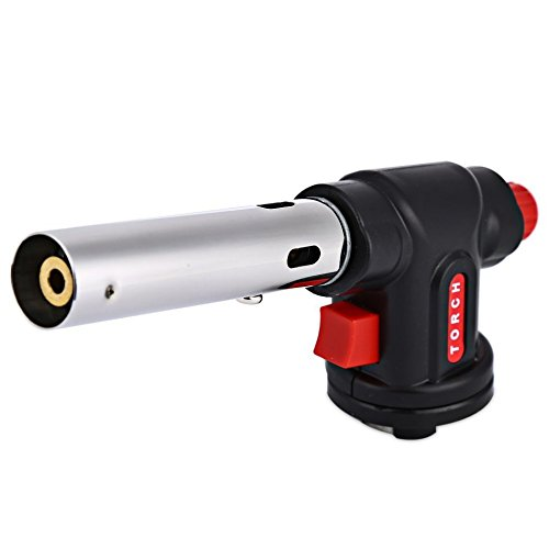 WS-504C Multi Purpose Gas Torch Butane Burn For Camping Equipment Hinking Outdoor Survival Stove Auto Ignition Flamethrower