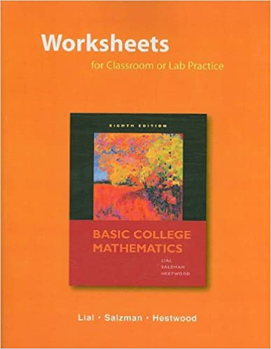 Amazon.com: Worksheets for Classroom or Lab Practice for Basic ...