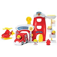 Toy Fire Metro Force City Station Play Set