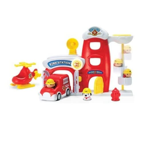 Keenway Toy Fire Metro Force City Station Play Set