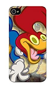 High-end Case Cover Protector For Iphone 5/5s(woodpecker Cartoon In A Highchair At My Grandparent House My Dad)