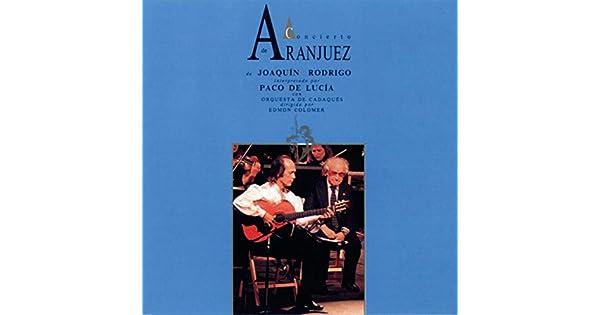 Amazon.com: Concierto De Aranjuez: Paco De Lucía & Joaquín ...