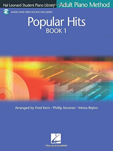 Popular Hits Book 1: Hal Leonard Student Piano Library Adult Piano Method (Hal Leonard Student Piano Library (Songbooks))