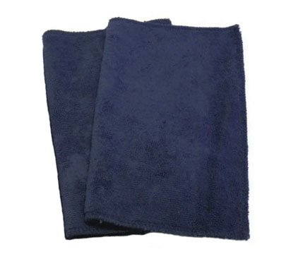 Good Microfiber Cloth (Swiffer Sweeper, Microfiber, Refill, Wet Mopping or Dry Dusting, Reusable, Eco-friendly, Set of 2, Many Colors Available (Navy))