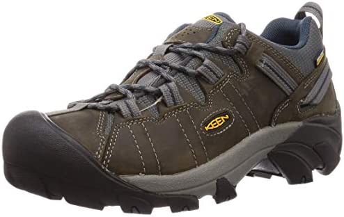 KEEN Targhee ll Hiking Shoe – Men s Gargoyle Midnight Navy, 9.0
