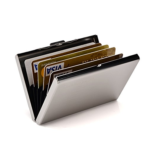RFID Credit Card Holder Metal Wallet Slim Credit Card Case Protector