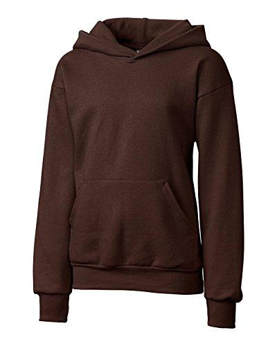 Brown Hooded Fleece - 9